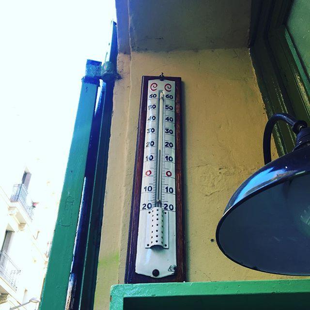 18ºC y subiendo, que es primavera