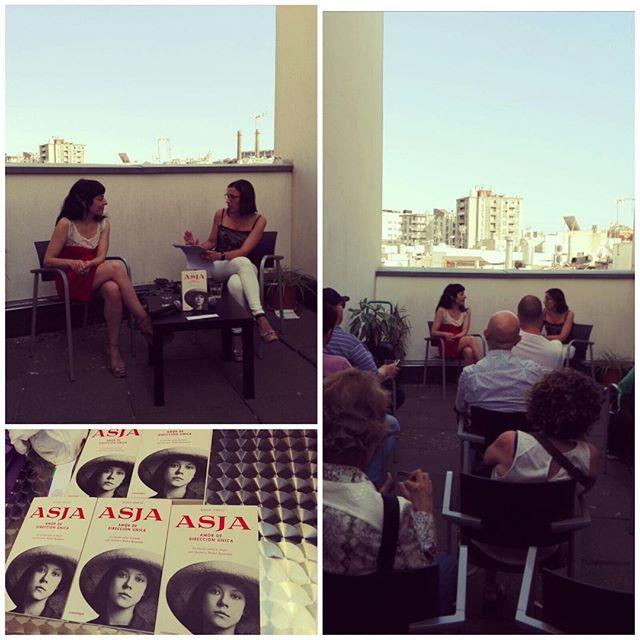 Ahir dijous, a la 5a planta de la UGT Raval, vam parlar de la protagonista de la meva última novel·la #Asja, una altra dona silenciada per la història escrita pels homes. @Comanegra @icdones @avalot_jovesugt @libreriaantinous @ugteducacio