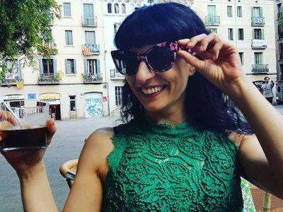 #Repost David Gau: A la plaza amb la meva estimada Roser Amills! #felicidad