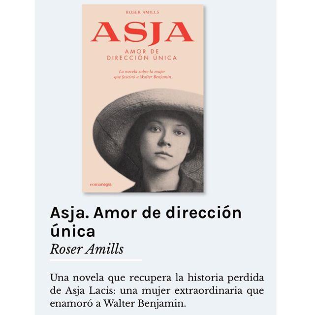 Asja lacis, novela de roser amills