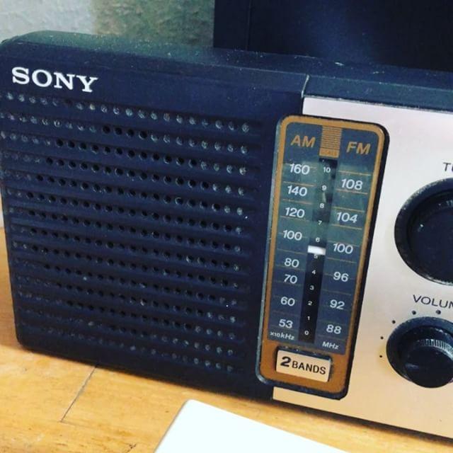 Oh, una radio!