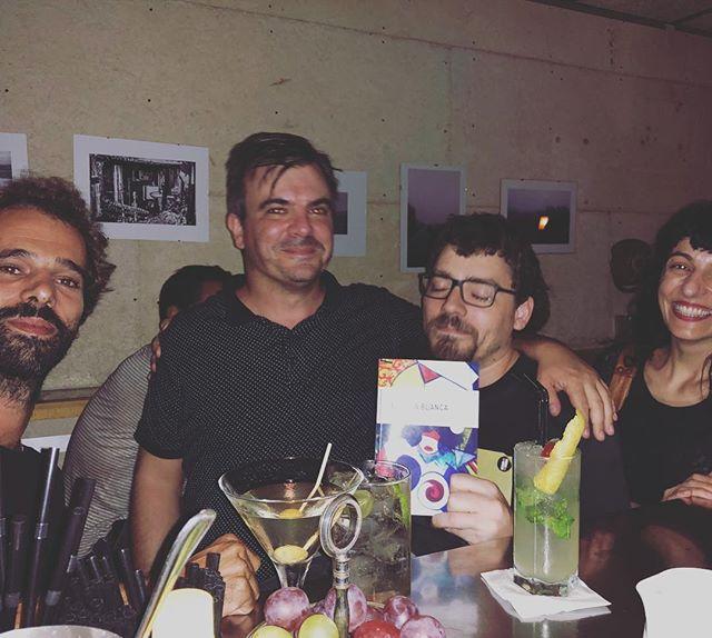 Amb en Martí de @nollegiu & Co. Sempre de llibres :))