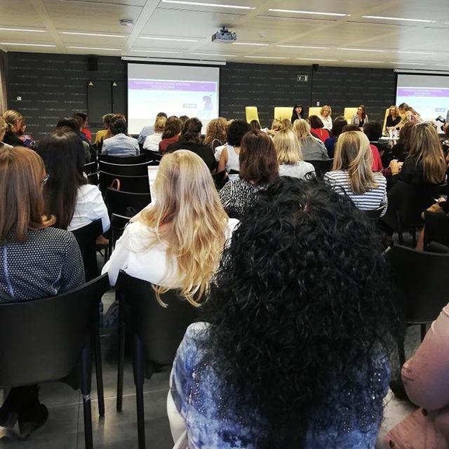 Lleno total #W360Congress en @esadecreapolis #SantCugat #Barcelona #business #salud #mujeres #Agenda2030 @icdones @women360congres #ehealth #empresa