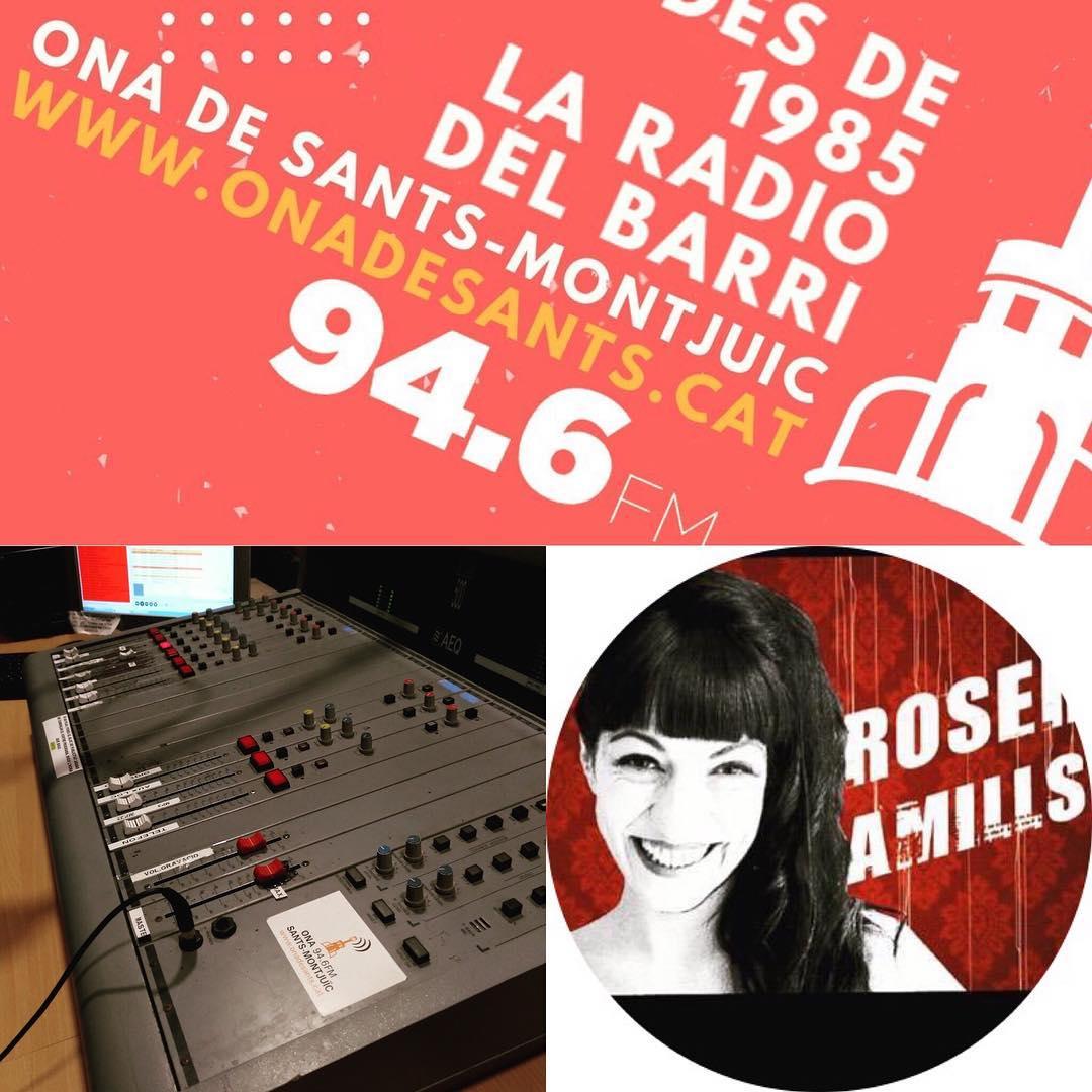 Avui vespre m'entrevisten a la ràdio de #santsmontjuïc, al programa @lmqnp . Parlarem de llibres i de #felicitat. A les 22h connecta 94.6FM i onadesants.cat. @xrcbcn @secretariat_shb