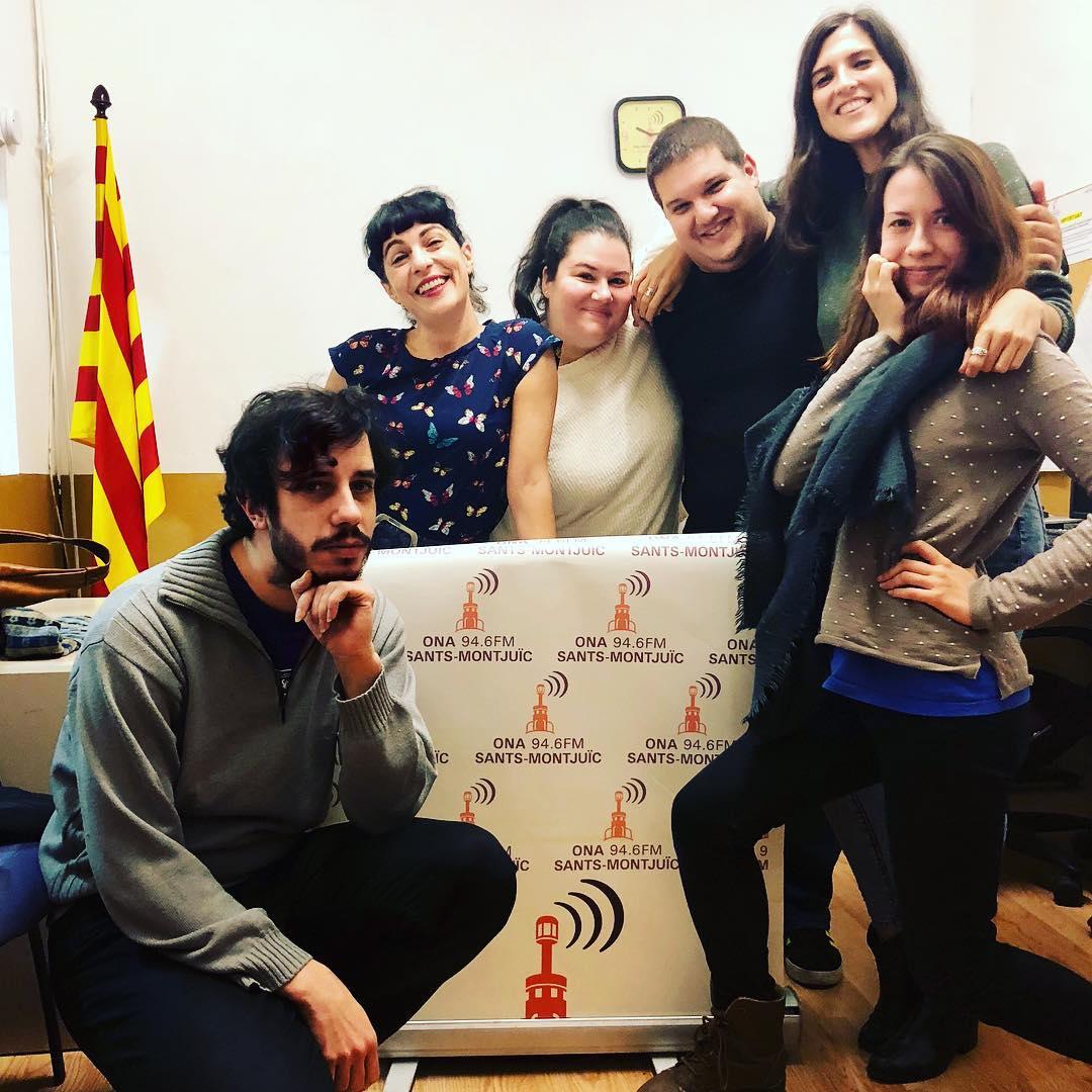 Ha estat un plaer, gràcies per l'entrevista i bona estona ràdio de #santsmontjuïc, gran programa @lmqnp 94.6FM i onadesants.cat