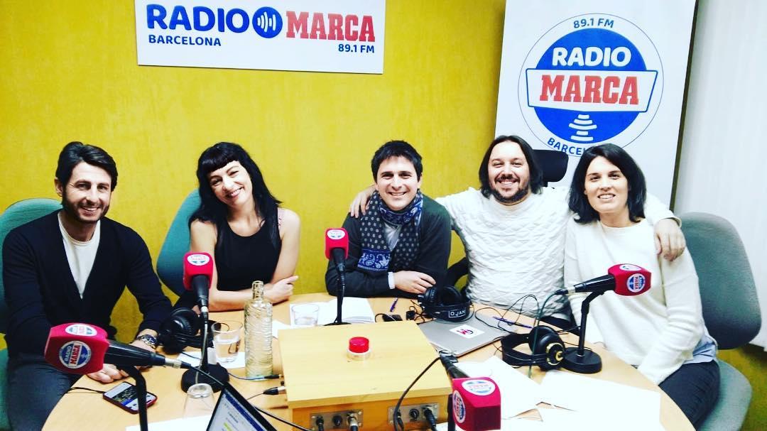 A las 10:30 me entrevistan en @radiomarca #estaciofrança en el 89.1 fm y online en www.radiomarcabarcelona/directo con @Renfe_SNCF_Es @Renfe_SNCF y @casa_vicens #casavicens 