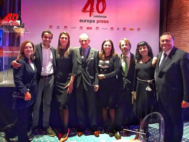 Gala 40 aniversario de Europa Press Catalunya