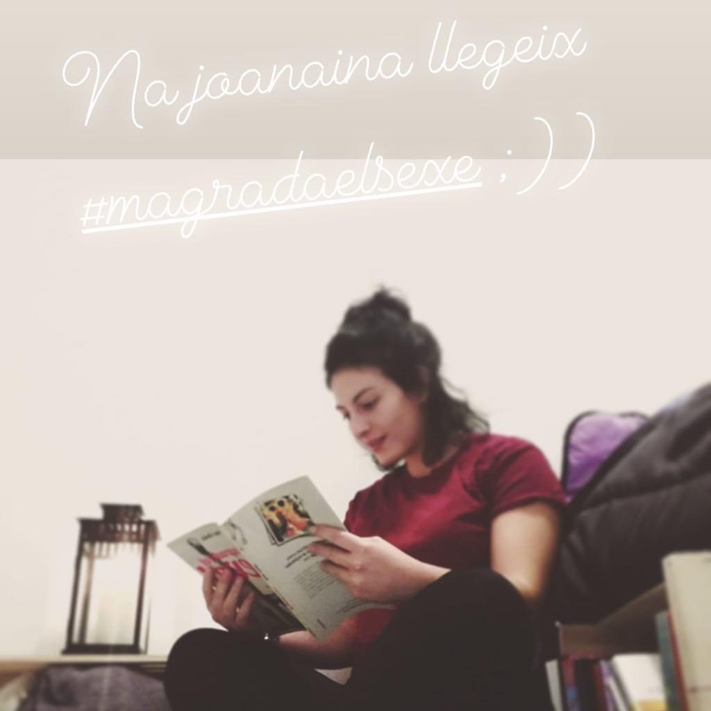 Gracias @junairipa por certificar tan bonito tu lectura de #magrada :)