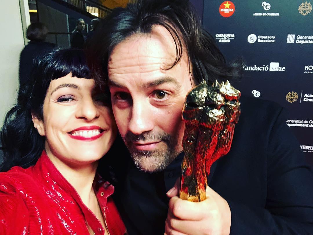 roser amills #isakilacuesta felicitats! #premigaudi #premigaudi2019