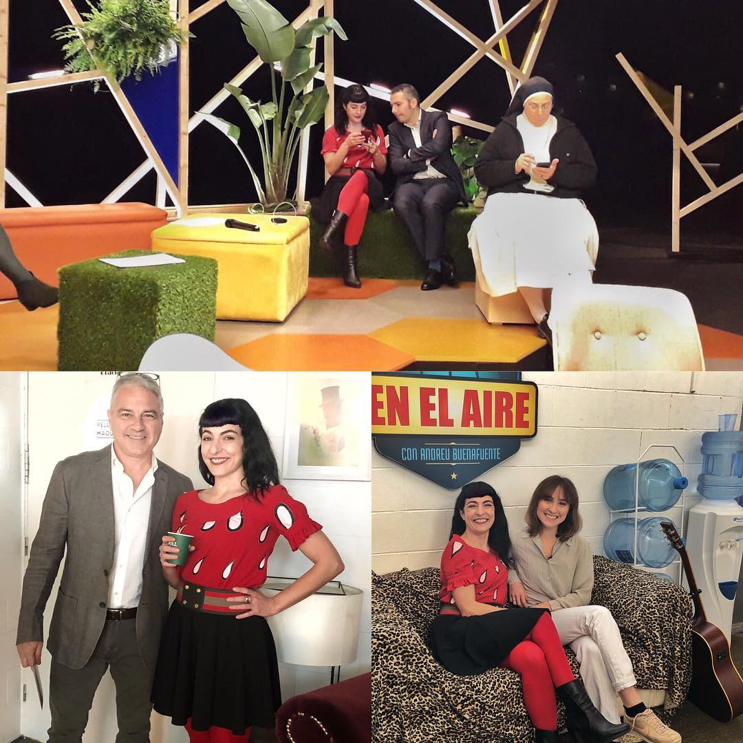 La #revolucioTV3 té energia positiva, aquí més moments amb @jordi_arrufi @sorluciacaram @alexmarquina i @marionharper_ i no hem fet foto amb la gran @xantal_llavina que és la que li posa màgia a tot això amb la seva professionalitat. #revolucionem-nos 🌼