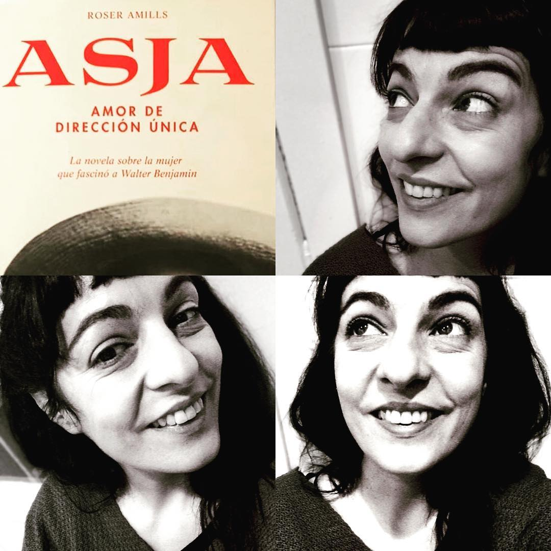Roser Amills autora de Asja