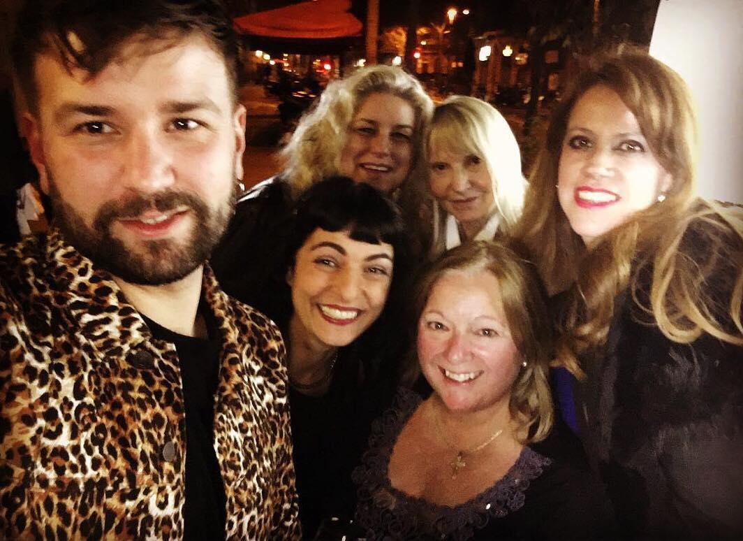 roser amills fiesta inauguracion restaurante haha barcelona