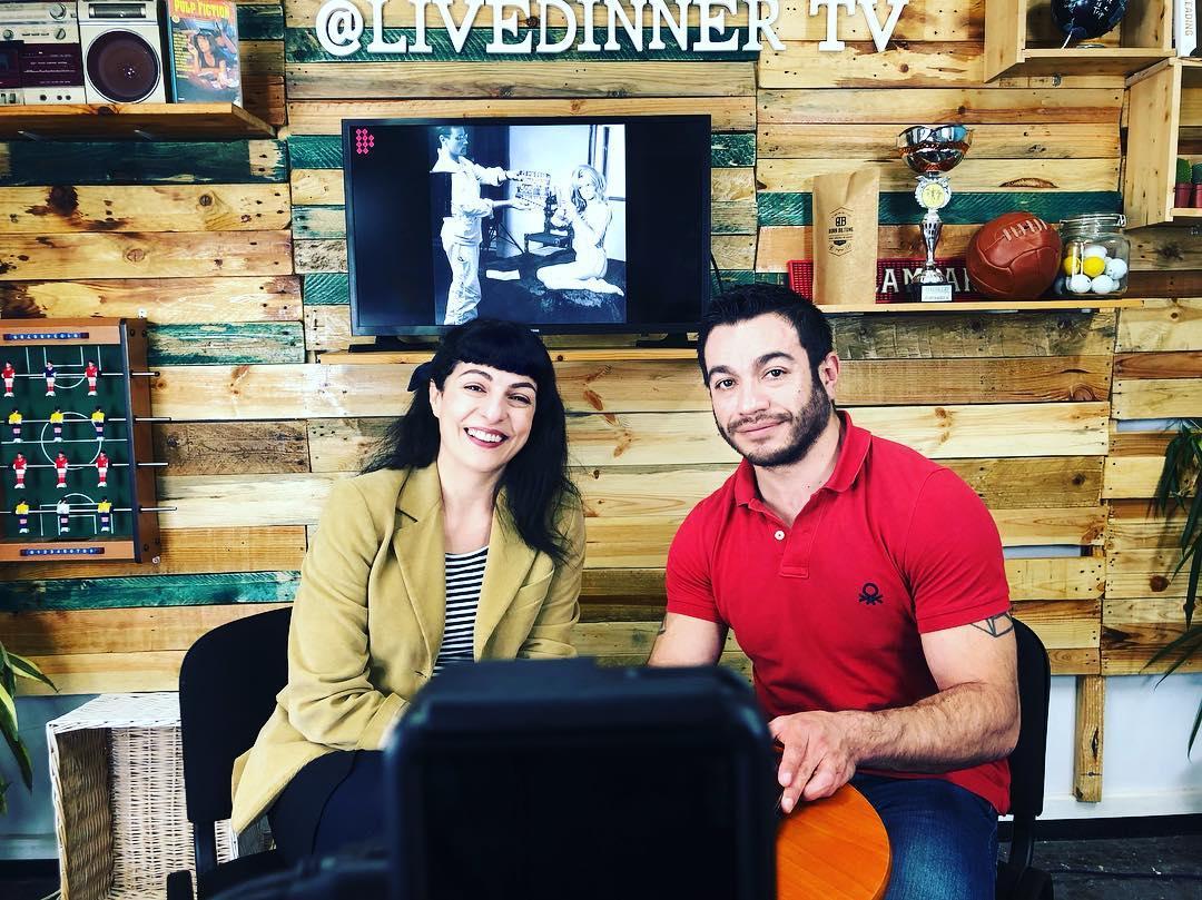 Con @miquelclaudilopez @livedinner.tv hablamos del #diainternacionaldelamujer #livedinner #shareyourfreedom
