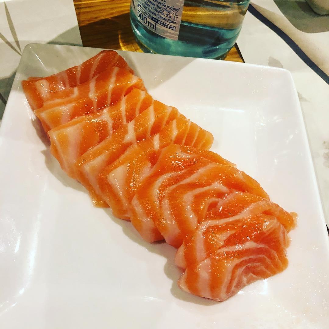 Nyam #sashimi