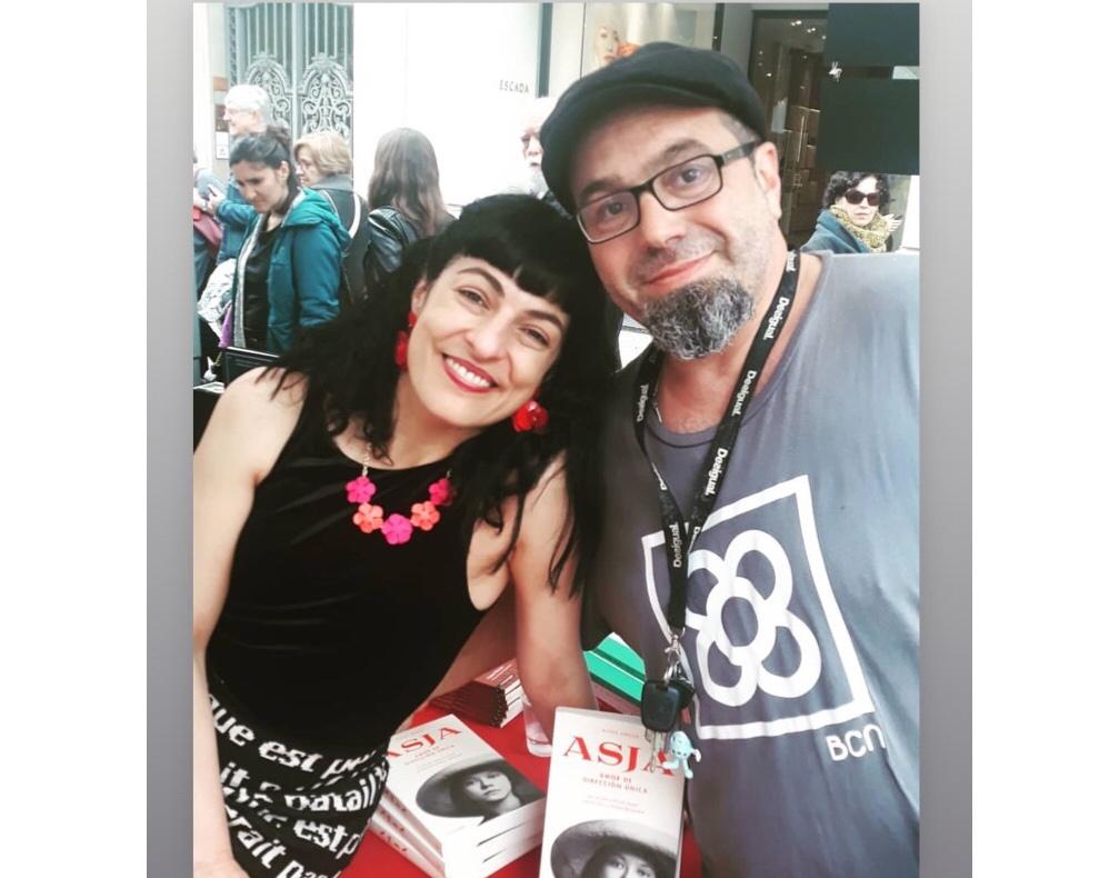 Xavi Rojo y Roser Amills, Sant Jordi 2019