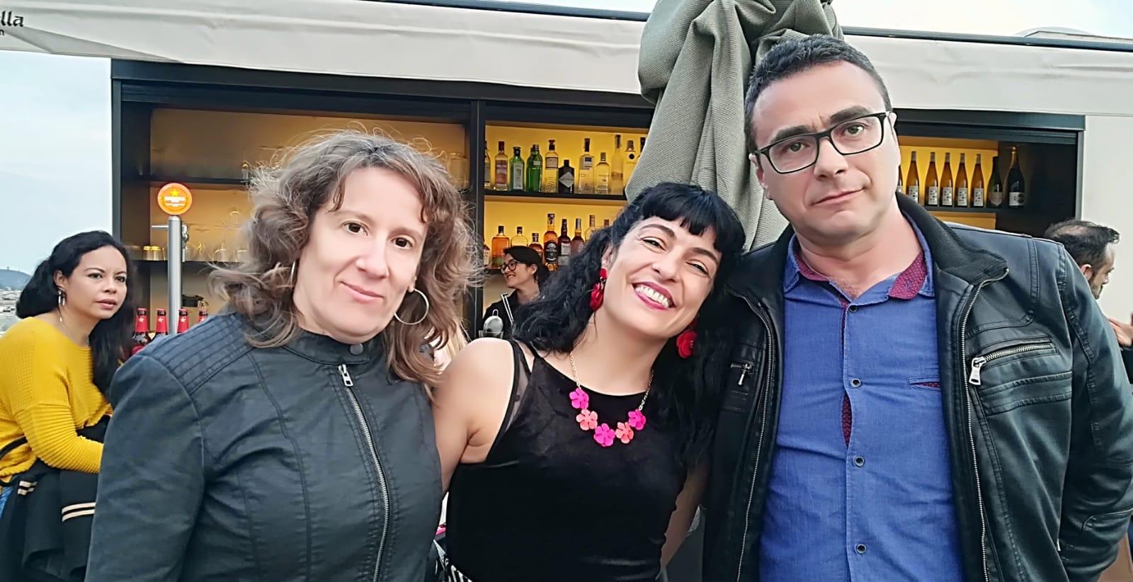 Resistencia Literaria y Roser Amills Sant Jordi 2019