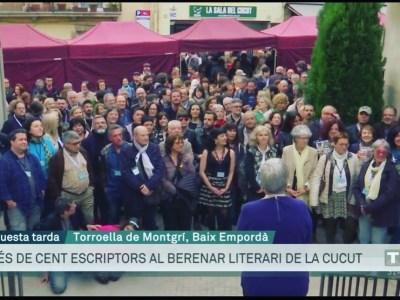 Berenar literari 2019 a Torroella de Montgrí