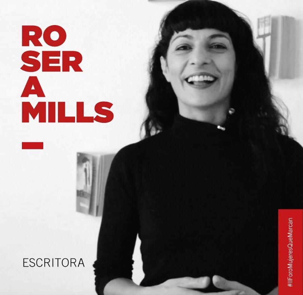 Roser Amills, escritora, en el II Foro de Mukeres Que Marcan, Palma de Mallorca 2019