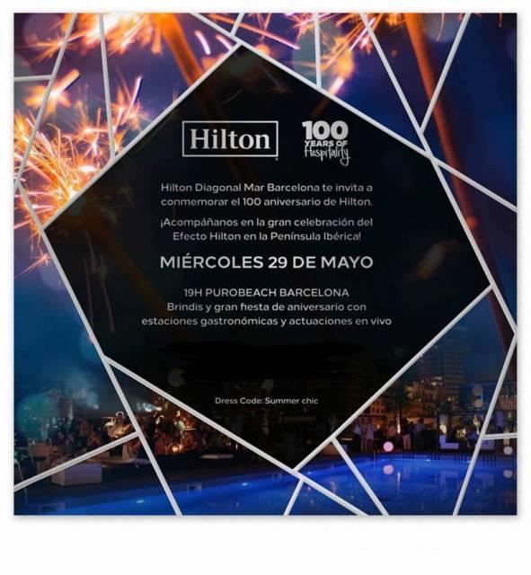 Hilton 100 aniversario