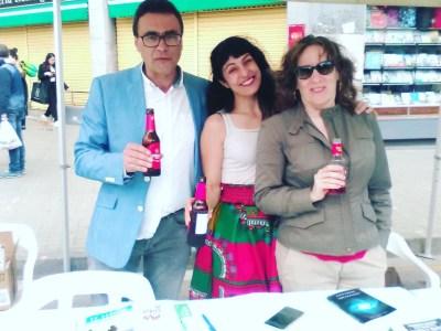 La 1ª Feria del Libro de La Llagosta fue un éxito!