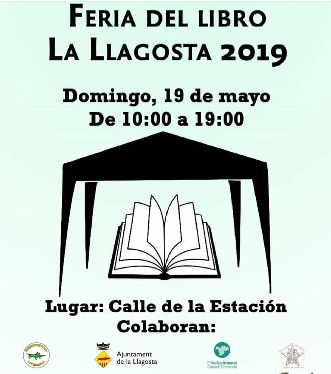 Feria del libro de la llagosta 2019