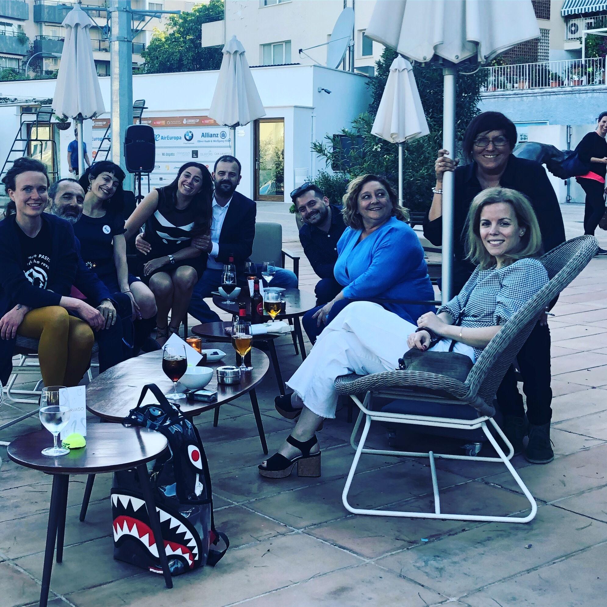 Roser Amills en el II Foro Mujeres Que Marcan 2019 en el Club de Tenis de Palma de Mallorca