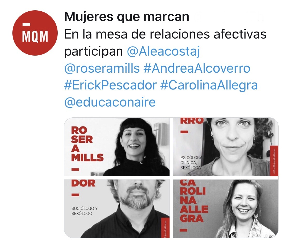 Roser Amills en el II Foro Mujeres Que Marcan 2019