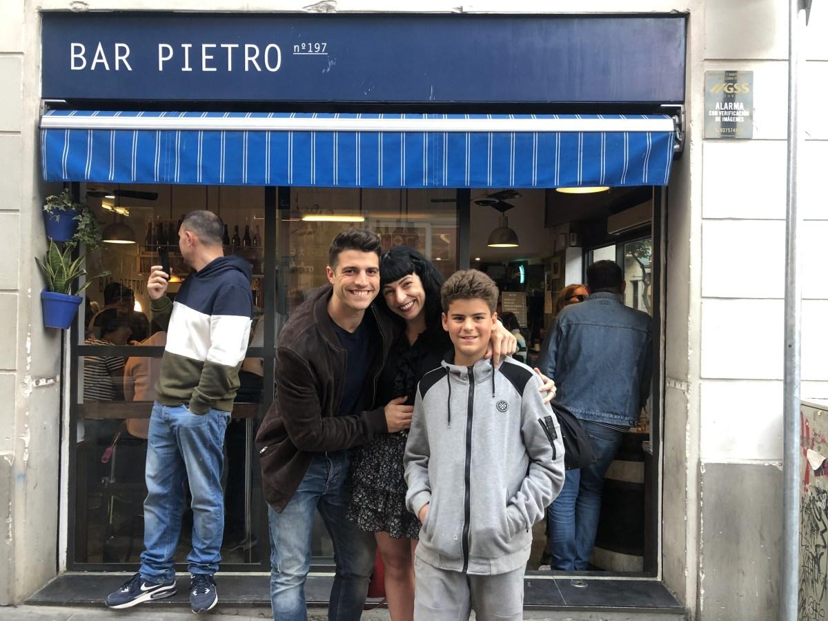 Con mis hijos Marcel Manzanares Amills y Juan Félix García Amills