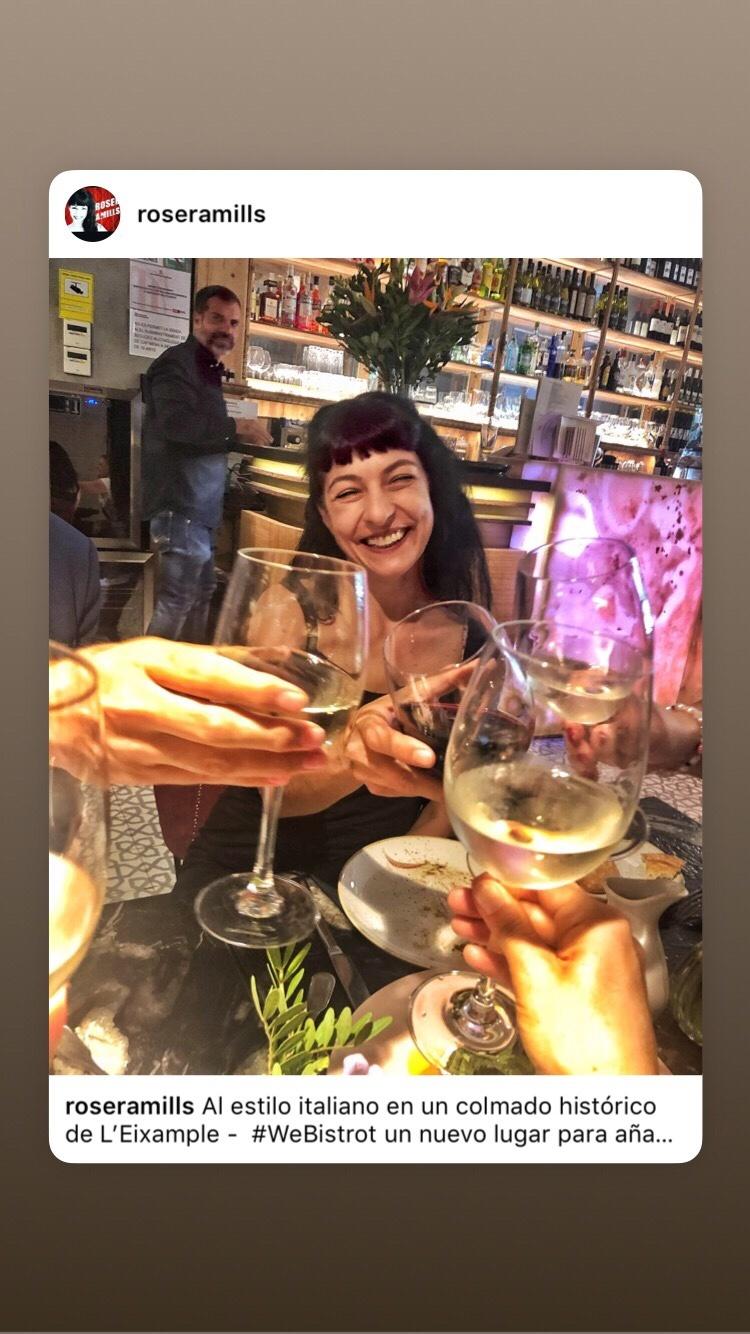 Mi visita al restaurante We Bistrot, en el Eixample de Barcelona