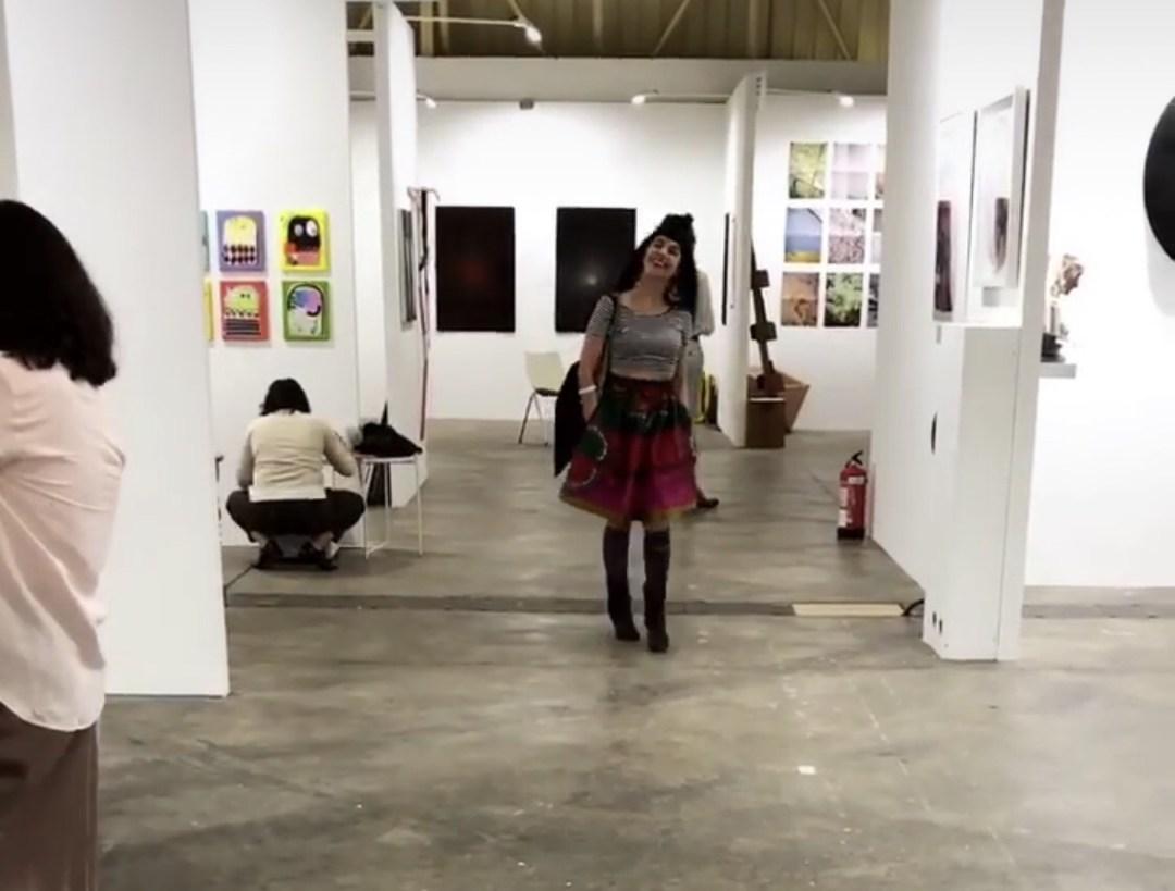 Roser Amills feria de arte swab