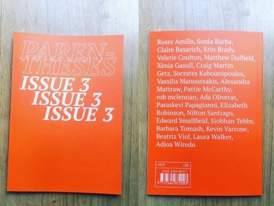 International journal | Parentheses issue 3 reading