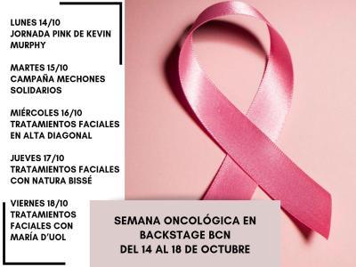 Apoyo la semana de la belleza oncológica de Backstage BCN