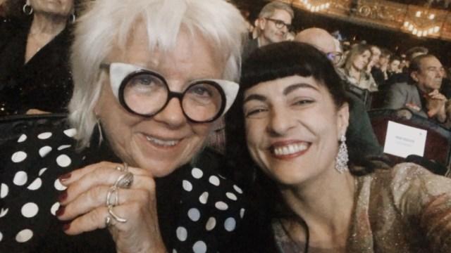 Gala de los Premios Ondas 2019, Núria Ribó y Roser Amills