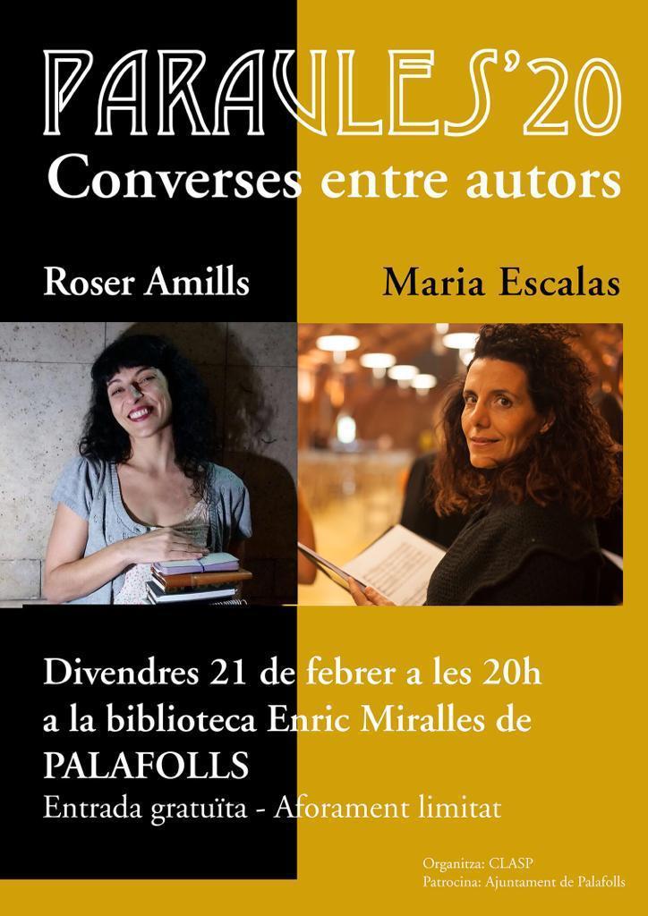 Roser Amills i Maria Escalas a Palafolls