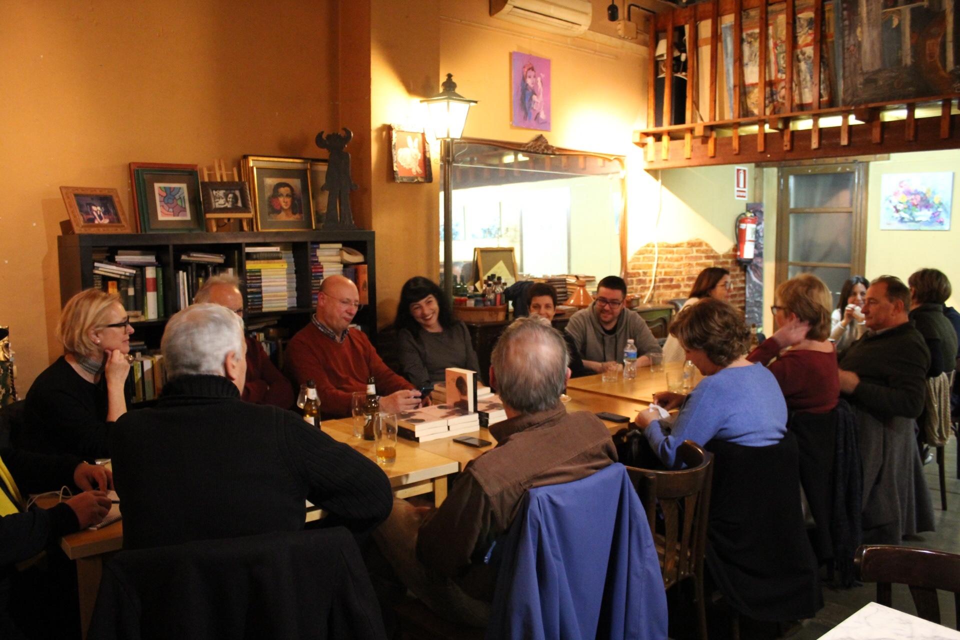 Així va ser Cafè filosòfic del divendres 14-02-20, al Cau de les Arts d'Esplugues de Llobregat