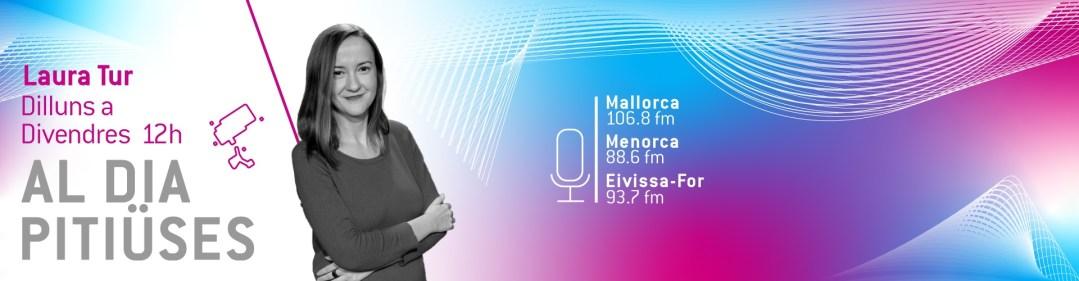 "Laura Tur, periodista, directora de ""Al Dia Pitiüses, IB3 ràdio (Eivissa)"