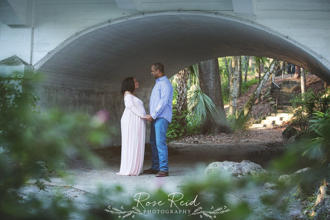 downtown orlando maternity session