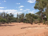 Another dry river bed