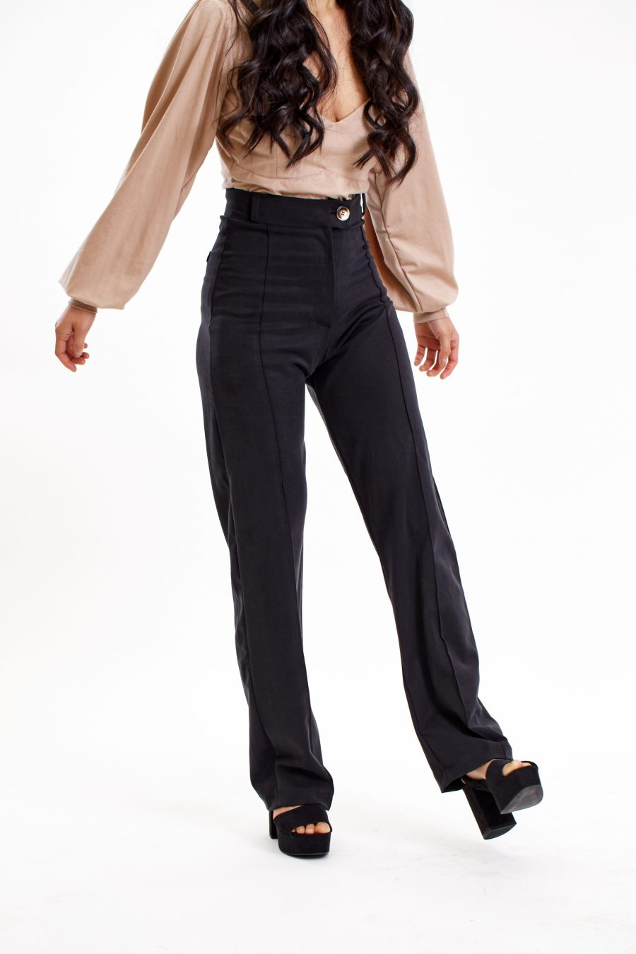 Dawn pants in black front