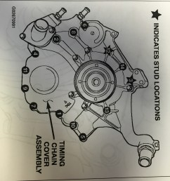how to replace a 3 7l or 4 7l timing chain s and or components from engine  likewise dodge ram runner on jeep liberty 3 7 engine diagram