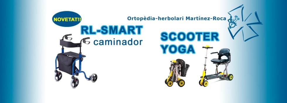 Caminador RL-SMART i Scooter YOGA ara a Ortopèdia Martínez Roca a Rosessalut, Roses