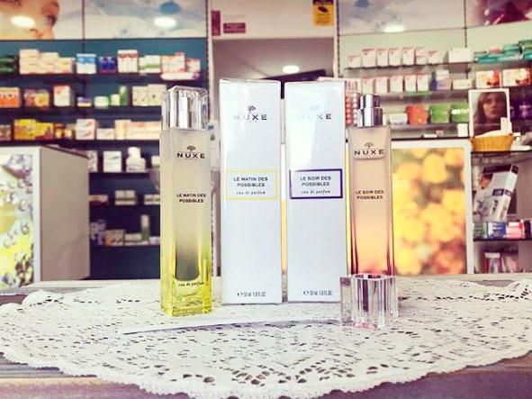 farmacia_bibianamartinez Ja tornen a ser aquí!! Els fabulosos perfums Nuxe!! Vine i prova'ls!! #nuxe