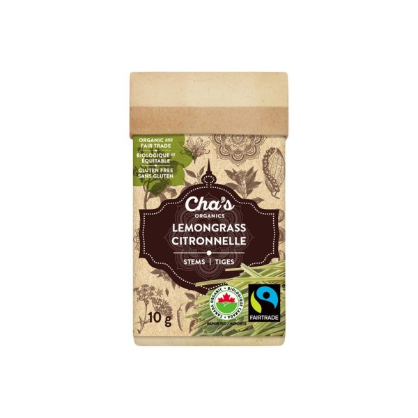 Cha's Organics lemongrass stems are available at Rosette Fair Trade online store