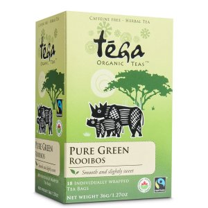 Fairtrade green rooibos by Tega Organic Tea on Rosette Fair Trade's online store