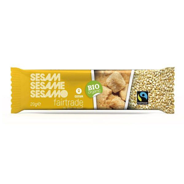 Sesame seed bar (Oxfam Fair Trade) on Rosette Fair Trade