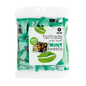 Mint candies by Oxfam Fair Trade on Rosette Fair Trade