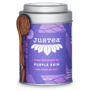 Purple Rain loose leaf tea by JusTea on Rosette Fair Trade online store