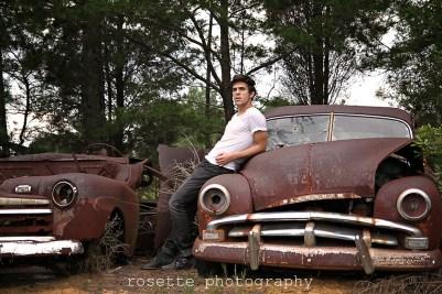 Vintage Car Graveyard Shoot