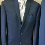 Michael Kors blue suit