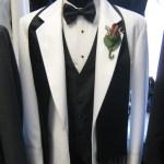 white dinner coat